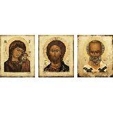 Купить икону Триптих арт ТР-21кн 30х25