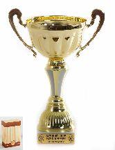Кубок подарочный Чаша с рельефными ручками Лучший шеф всех времен и народов 22с