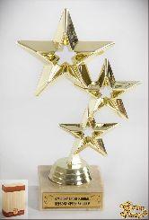 Кубок подарочный Три звезды Лучшему среди равных,первому среди лучших!