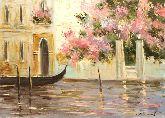 """Картина на холсте """"Лето в Венеции"""""""