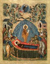 Цена иконы Успение Пресвятой Богородицы У-01-7 12х9,5