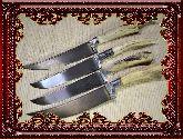 Узбекский нож (Пчак), Мини косуля (гарда олово)