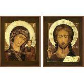 Купить икону Венчальные Пары арт ВП-01к 30х23,5