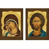 Цена иконы Венчальные Пары арт ВП-10и 18х13