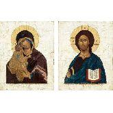 Цена иконы Венчальные Пары арт ВП-11д 18х14
