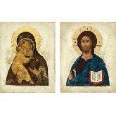 Цена иконы Венчальные Пары арт ВП-11в 18х14