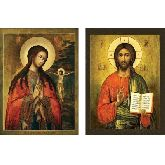 Стоимость иконы Венчальные Пары арт ВП-12а 12х9