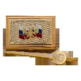 Визитница Герб России