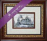 Владимир. Успенский собор, рамка художественный багет, 365х315