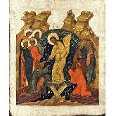 Купить икону Воскресение Христово ВХ-02-6 18х15