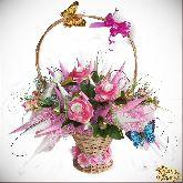 Букет цветов Все о любви