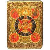 Всевидящее Око Божие, Аналойная икона, 21Х29