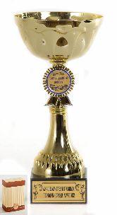 Кубок подарочный Чаша с эмблемой Приручившему победу