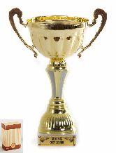 Кубок подарочный Чаша с рельефными ручками Великих свершений 22см