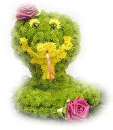 """Игрушка из цветов """"Змей Ка"""""""