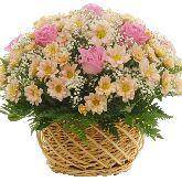"Корзина с цветами ""Золушка"""