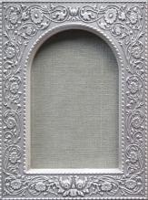Рамка с арочным окном Гальванопластика 95х125