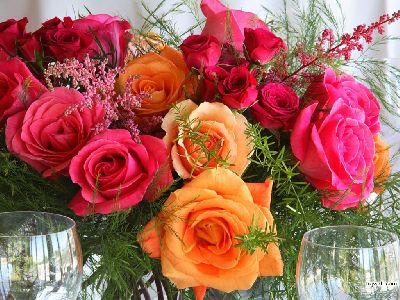 Открытка цветы 209