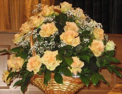 Открытка цветы 85