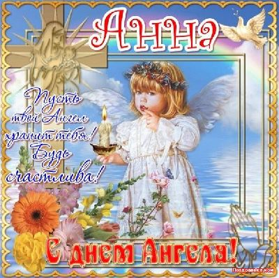 Открытка день ангела 8