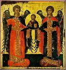 Иконы Византии Ангелы